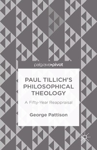 Cover Paul Tillich's Philosophical Theology