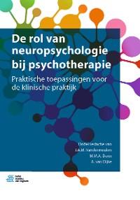 Cover De rol van neuropsychologie bij psychotherapie