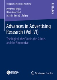 Cover Advances in Advertising Research (Vol. VI)