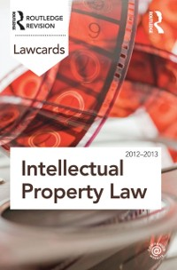 Cover Intellectual Property Lawcards 2012-2013