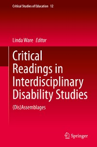 Cover Critical Readings in Interdisciplinary Disability Studies