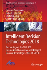 Cover Intelligent Decision Technologies 2018