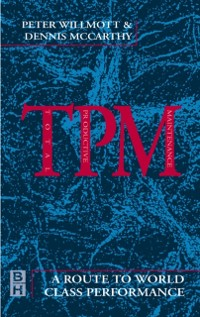 Cover TPM - A Route to World Class Performance