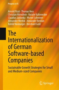 Cover The Internationalization of German Software-based Companies
