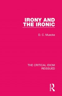 Cover Irony and the Ironic