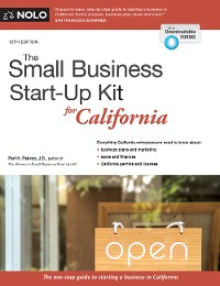 Cover Small Business Start-Up Kit for California, The