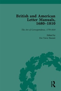 Cover British and American Letter Manuals, 1680-1810, Volume 4