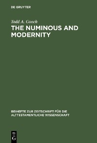 Cover The Numinous and Modernity