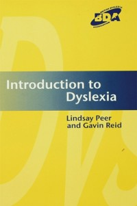 Cover Introduction to Dyslexia