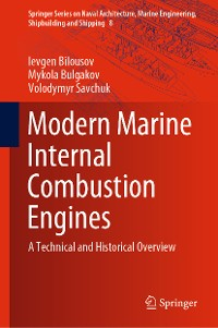 Cover Modern Marine Internal Combustion Engines