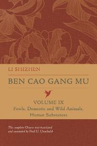 Cover Ben Cao Gang Mu, Volume IX