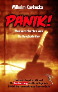 Cover Panik! Messerscharfes Aus