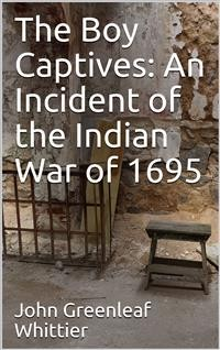 Cover The Boy Captives: An Incident of the Indian War of 1695