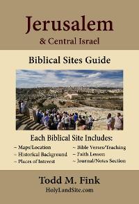 Cover Jerusalem & Central Israel Biblical Sites Guide