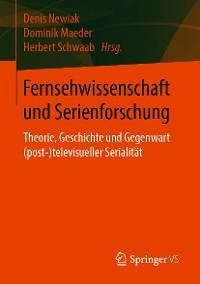 Cover Fernsehwissenschaft und Serienforschung