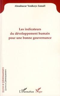 Cover Indicateurs developpement humain pour...