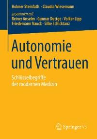 Cover Autonomie und Vertrauen