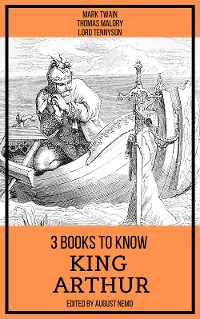 Cover 3 books to know King Arthur