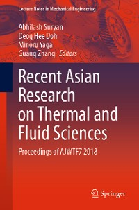 Cover Recent Asian Research on Thermal and Fluid Sciences