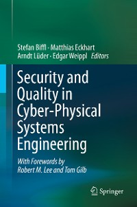 Cover Security and Quality in Cyber-Physical Systems Engineering