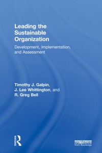 Cover Leading the Sustainable Organization