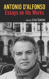 Cover Antonio D'Alfonso