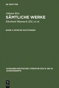 Cover Epische Dichtungen