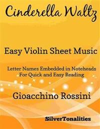 Cover Cinderella Waltz Easy Violin Sheet Music