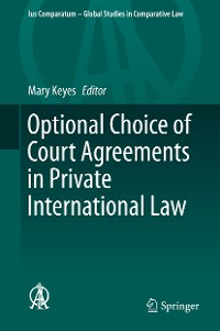 Cover Optional Choice of Court Agreements in Private International Law