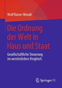 Cover Die Ordnung der Welt in Haus und Staat