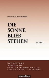 Cover Die Sonne blieb stehen - Band 1