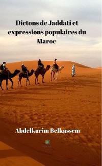 Cover Dictons de Jaddati et expressions populaires du Maroc