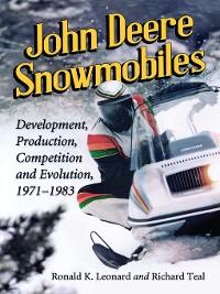 Cover John Deere Snowmobiles