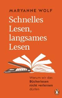 Cover Schnelles Lesen, langsames Lesen
