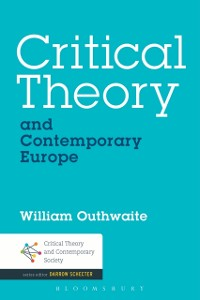 Cover Critical Theory and Contemporary Europe