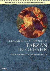 Cover TARZAN IN GEFAHR