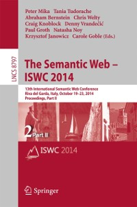 Cover Semantic Web - ISWC 2014