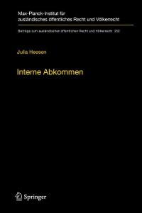 Cover Interne Abkommen