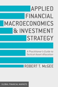 Cover Applied Financial Macroeconomics and Investment Strategy