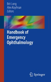 Cover Handbook of Emergency Ophthalmology