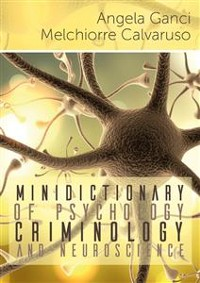 Cover Minidictionary of psychology, criminology and neuroscience