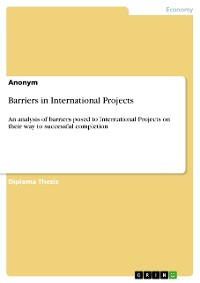 Cover Barriers in International Projects