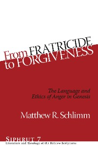 Cover From Fratricide to Forgiveness