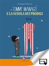 Cover tommy managò e la scuola dei prodigi