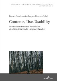 Cover Contents, Use, Usability