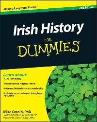 Cover Irish History For Dummies