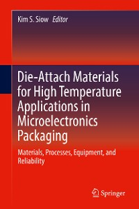 Cover Die-Attach Materials for High Temperature Applications in Microelectronics Packaging