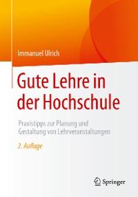 Cover Gute Lehre in der Hochschule