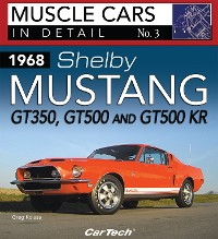 Cover 1968 Shelby Mustang GT350, GT500 and GT500KR