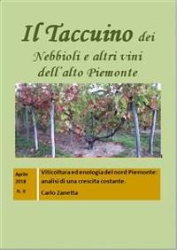 Cover Il Taccuino dei Nebbioli e vini dell'Alto Piemonte